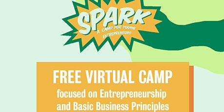 Free Virtual Spark Camp for Young Entrepreneurs tickets