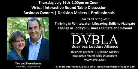 DVBLA Virtual Roundtable -  Thriving in Whitewater: Navigating Change 2020 tickets