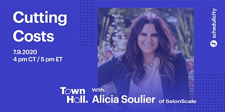Cutting Costs with Alicia Soulier of SalonScale tickets