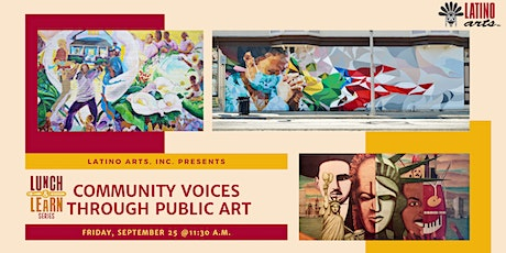 Lunch & Learn: Community Voices Through Public Art tickets