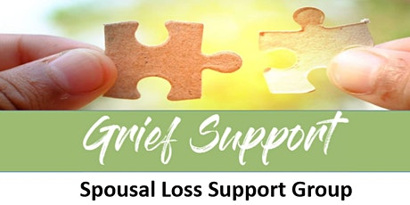 Grief Support: Spousal Loss Support Group tickets