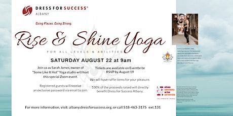 Rise & Shine Yoga Virtual Event tickets