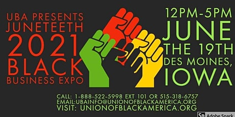 Juneteenth Black Business Expo and Tour Jump Off tickets