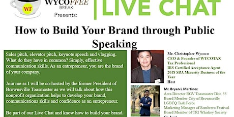 How to Build Your Brand through Public Speaking tickets