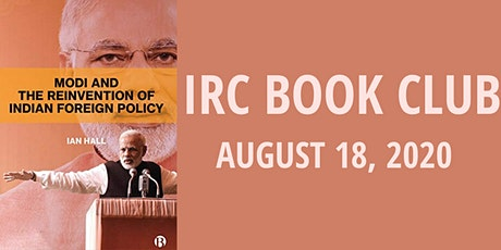 IRC Book Club: Modi and the Reinvention of Indian Foreign Policy tickets