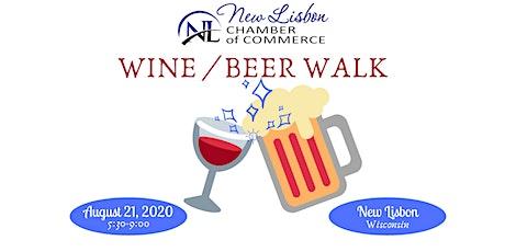 Wine/Beer Walk tickets