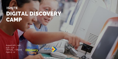 Digital Discovery Camp tickets