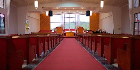 Culto de Adoración y Predicación boletos