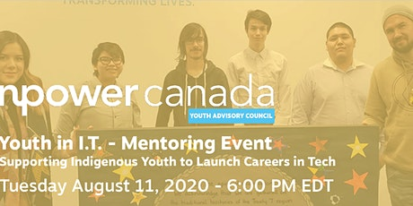 Youth in I.T. - Mentoring Event - FOR INDIGENOUS YOUTH ONLY tickets