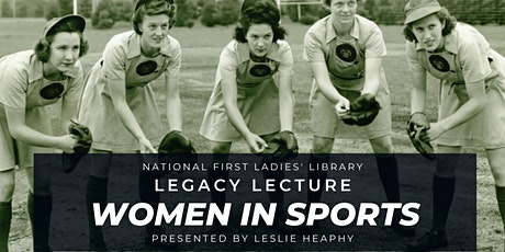 Virtual Legacy Lecture: Women in Sports tickets