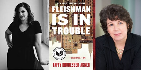 Taffy Brodesser-Akner with Meg Wolitzer: Fleishman Is In Trouble tickets