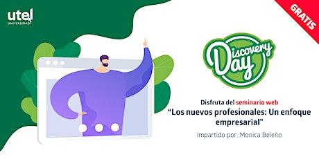 """Seminario Web  """"Los nuevos profesionales: Un enfoque empresarial """" entradas"""