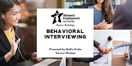 Behavioral Interviewing tickets