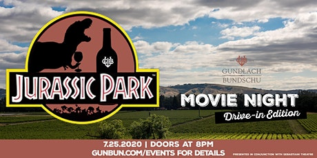 Gun Bun Drive-In, Featuring Jurassic Park tickets