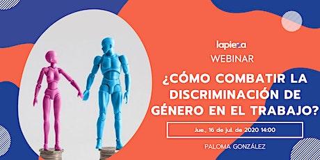 ¿Cómo combatir la discriminación de género en el trabajo? entradas