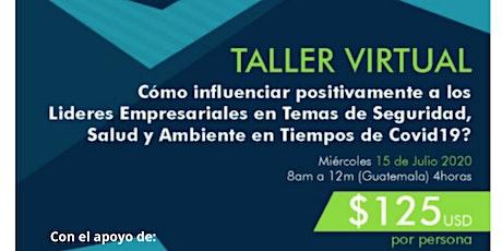 Taller Virtual: Influyendo a Líderes Empresariales sobre HSE en la pandemia entradas