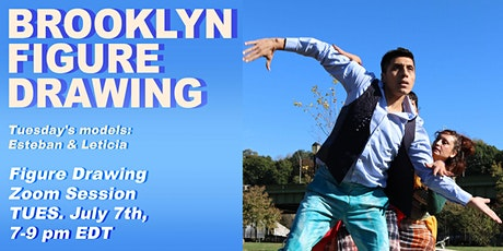 Brooklyn Figure Drawing Tuesday Zoom Session tickets
