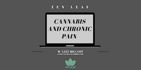 Cannabis and Chronic Pain Webinar tickets