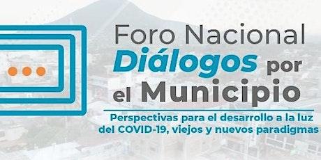 Foro Nacional Diálogos por el Municipio entradas