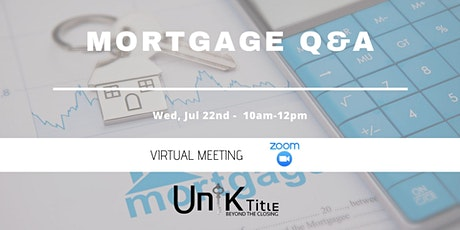 Mortgage Q & A (Spanish) tickets