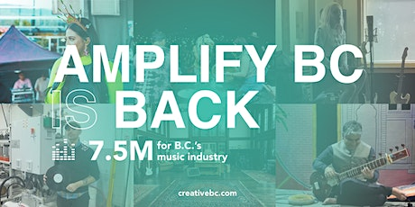 Amplify BC Info Session: Live Music at 12 PM | Online tickets