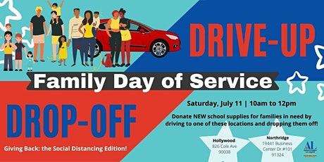 Family Day of Service: Back-to-School Supply 'Drive-Up & Drop Off'  Event tickets