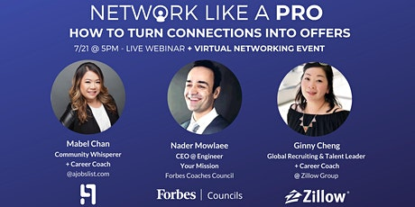 Network Like Pro - How to Turn Connections Into Offers tickets
