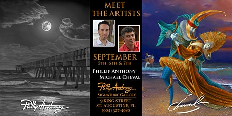 Meet the Artists Show: Michael Cheval and Phillip Anthony tickets