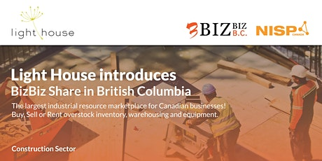 BizBiz BC - Supporting the Construction Sector tickets