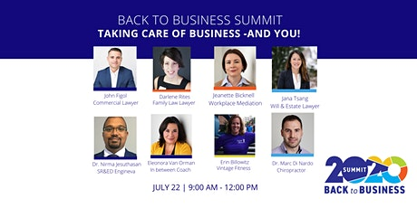 Back to Business 2020:  Taking Care of Business  -and You tickets