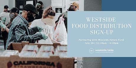 Westside Food Distribution tickets