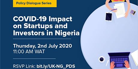 Policy Dialogue Series: COVID-19 Impact on Startups & Investors in Nigeria tickets