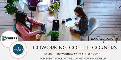 Coworking & Coffee at The Corners tickets