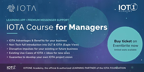 IOTA Course for Managers // Learning App with Premium Support tickets
