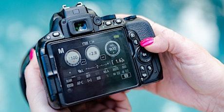 Beginner DSLR Photography LIVE Online Class tickets