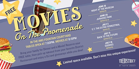 Movies on the Promenade tickets