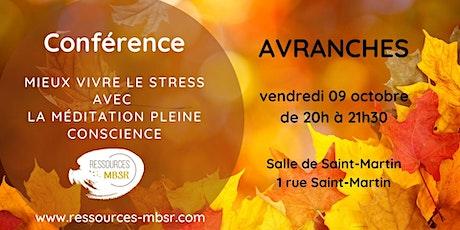 Conférence - méditation pleine conscience billets