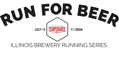 Beer Run - Temperance Beer | Part of IL Brewery Running Series tickets