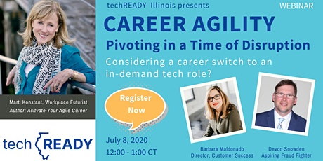 Career Agility: Pivoting in a Time of Disruption tickets