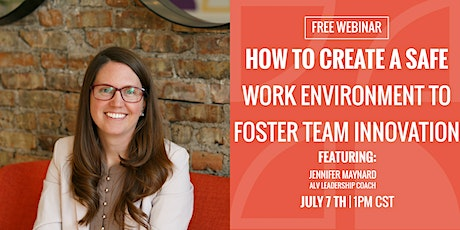 How To Create a Safe Work Environment To Foster Team Innovation tickets