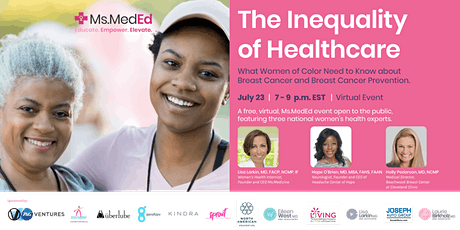 Webinar: What Black Women Need to Know About Breast Cancer and Prevention tickets