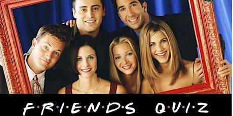 FRIENDS TV show online quiz 100 questions 100 minutes £100.00 cash prizes Tickets