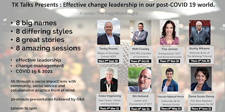 Matt Cowley : Effective change leadership in our post-COVID 19 world. tickets