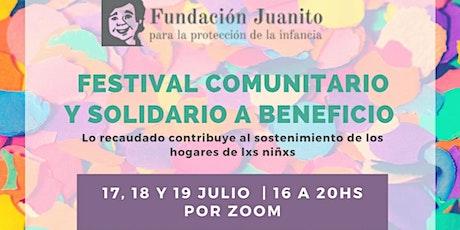 Día 3 - ¡Festival Comunitario y Solidario! entradas