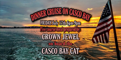 DINNER CRUISE ON CASCO BAY tickets