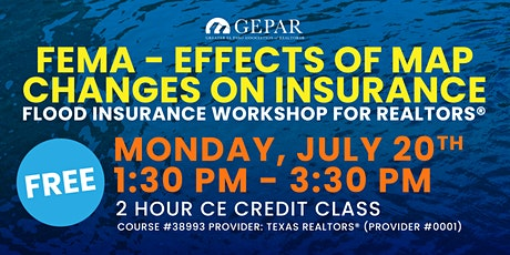 FEMA - Effects of Map Changes on Insurance Tickets