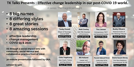 Bill Holland : Effective change leadership in our post-COVID 19 world. tickets