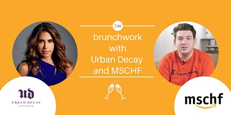 Creative brunchwork w/ Urban Decay & MSCHF tickets