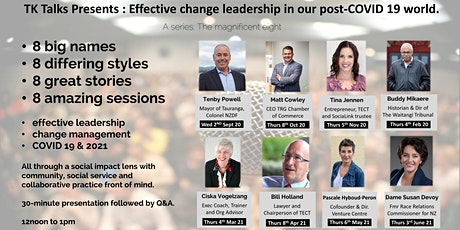 Dame Susan Devoy : Effective change leadership in our post-COVID 19 world. tickets
