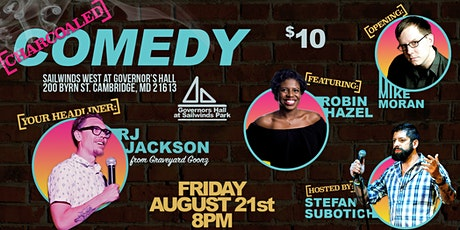 Charcoaled Comedy at Governors Hall at Sailwinds Park tickets